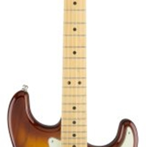 Fender® American Elite Stratocaster with Maple Neck in Tobacco Sunburst