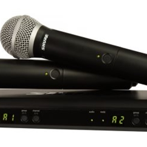 Shure BLX288PG58 Dual Wireless System with 2 PG58 Microphones