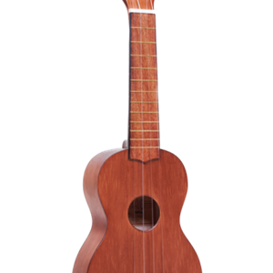 Mahalo Kahiko Series Soprano Ukulele in Transparent Brown