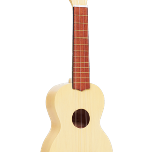 Mahalo Kahiko Series Soprano Ukulele in Transparent Butterscotch