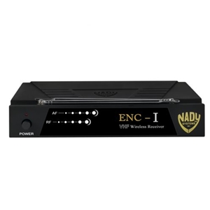 Nady ENC-I Professional Single-Channel VHF Guitar Wireless System, B Band