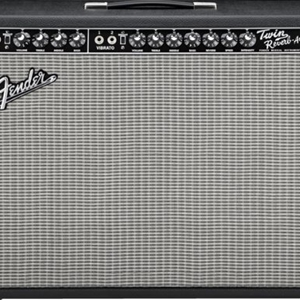 Fender® '65 Twin Reverb® Tube Guitar Amplifier
