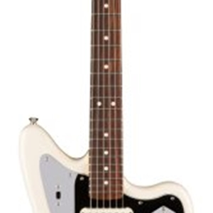 Fender® American Professional Jaguar® with Rosewood Neck in Olympic White Finish