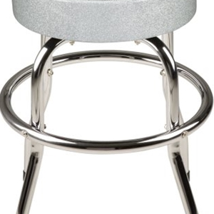 Fender™ Silver Sparkle Bar Stool, 30in