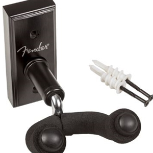 Fender® Guitar Wall Hanger- Black Finish