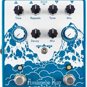 Earthquaker Devices Avalanche Run™ Stereo Reverb and Delay Effect Pedal