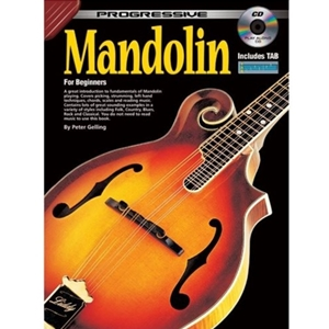 Progressive Mandolin for Beginners with CD