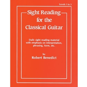 Sight Reading for Classical Guitar Levels 1-3