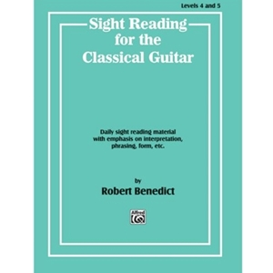Sightreading for the Classical Guitar Level IV-V