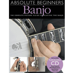 Absolute Beginners Banjo with CD