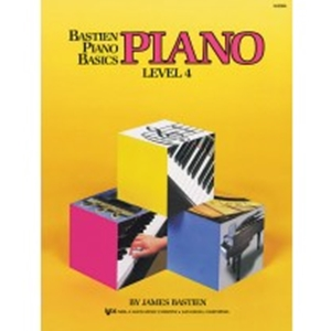 Bastien Piano Level 4