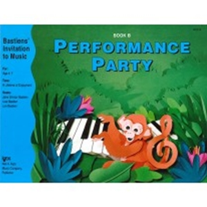 Bastien Performance Party Book B