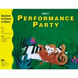 Bastien Performance Party Book C