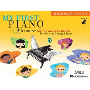 My First Piano Adventure Lesson A w/CD