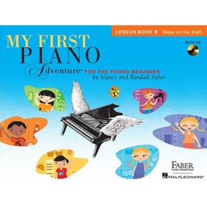 My First Piano Adventures Lesson B w/CD