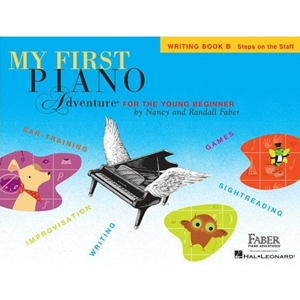 My First Piano Adventures Writing Book B