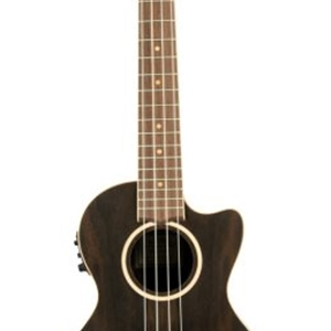 Lanikai Ziricote Cutaway Electric Tenor Ukulele with Case