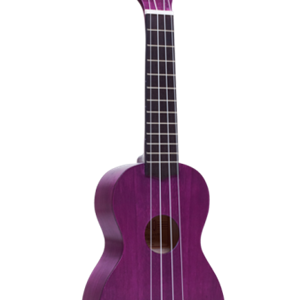 Mahalo Soprano Ukulele in Transparent Purple