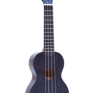 Mahalo Soprano Ukulele in Transparent Blacl
