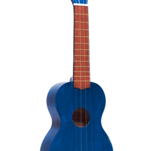 Mahalo Soprano Ukulele in Transparent Blue