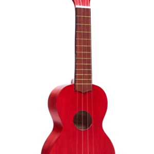 Mahalo Soprano Ukulele in Transparent Red