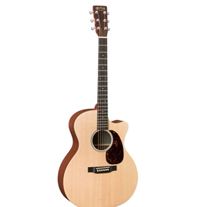 Martin GPC1XAE Acoustic Electric Guitar with Sitka Spruce Top and Fishman Pickup in Natural Finish