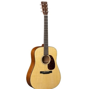 Martin D18 Standard Solid Spruce Top Acoustic Guitar in Natural Finish with Hardshell Case