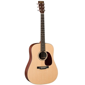Martin DXMAE Dreadnought Acoustic Electric Guitar in Natural Finish