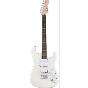 Squier® Bullet Stratocaster® HSS Hardtail in Arctic White Finish