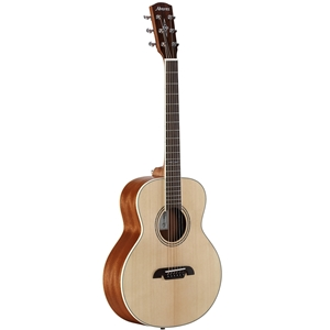Alvarez Little Jumbo Travel Guitar with Deluxe Gig Bag in Natural Finish
