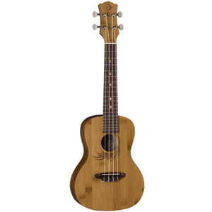 Luna Bamboo Concert Ukulele with Gig Bag