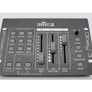 Chauvet 3 Channel DMX Lighting Controller
