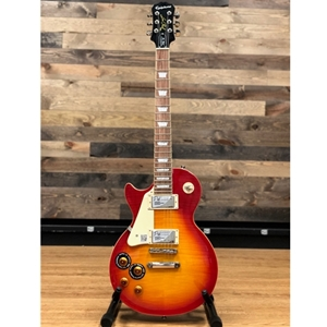 Epiphone Les Pau® Plus Top Pro, Left Handed, in Honey Sunburst Finish