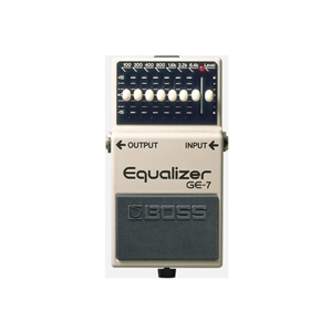 Boss 7-Band Graphic Equalizer