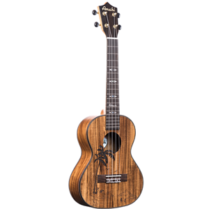 Amahi Tenor Size Ukulele with Koa Back and Sides w/ Gig Bag