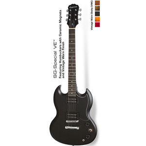 Epiphone SG Special VE in Ebony