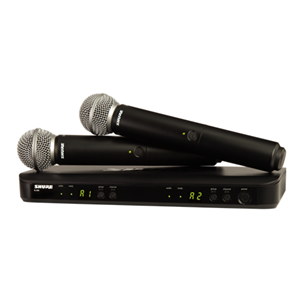 Shure BLX288/SM58 Dual Handheld SM58  Wireless System in J10 Frequency