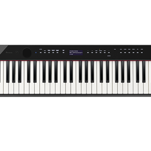 Casio Privia PXS3000 88 Key Digital Piano with Hammer Action in Black Finish