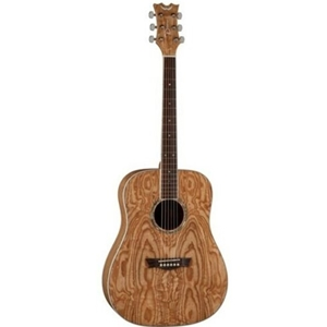 AXS Dreadnough Quilt Ash Gloss Natural Acoustic Guitar