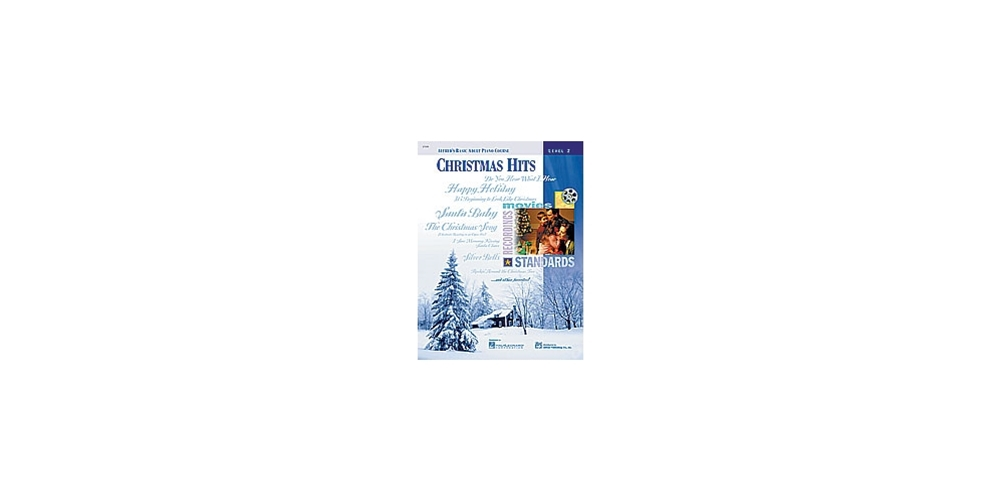 Basic Adult Piano Course: Christmas Hits Book 2