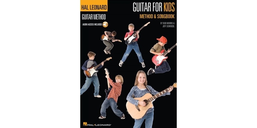 Hal Leonard Guitar for Kids Method and Songbook