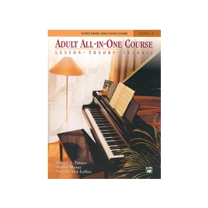 Alfred's Adult All-in-One Piano Course Level 1